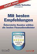Buchcover Mit besten Empfehlungen. Österreichs Kunden wählen die besten Finanzdienstleister