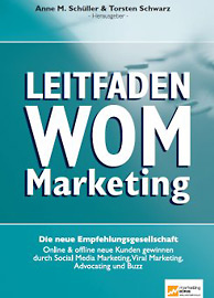 Buchcover Leitfaden WOM Marketing